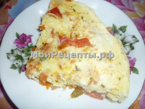 овощной омлет, овощной омлет рецепт