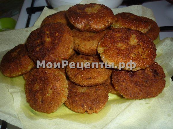 Рецепт гороховых котлет